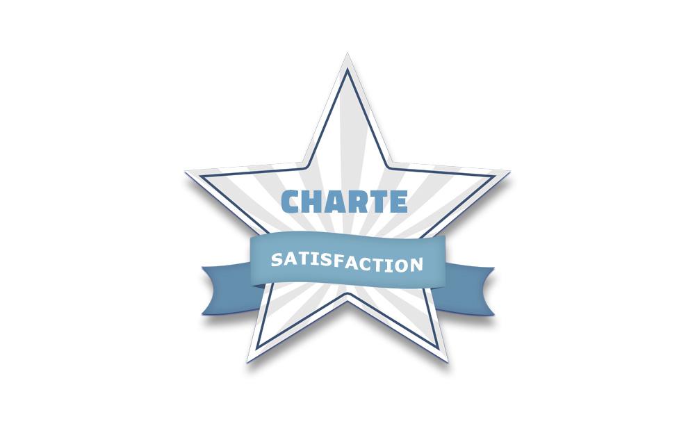 Charte de statisfaction client de La Coquille Web